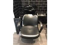 Salon Backwash Chair Unit