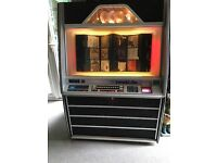 ROWE AMI compact disk Jukebox, working with included CD's and lights