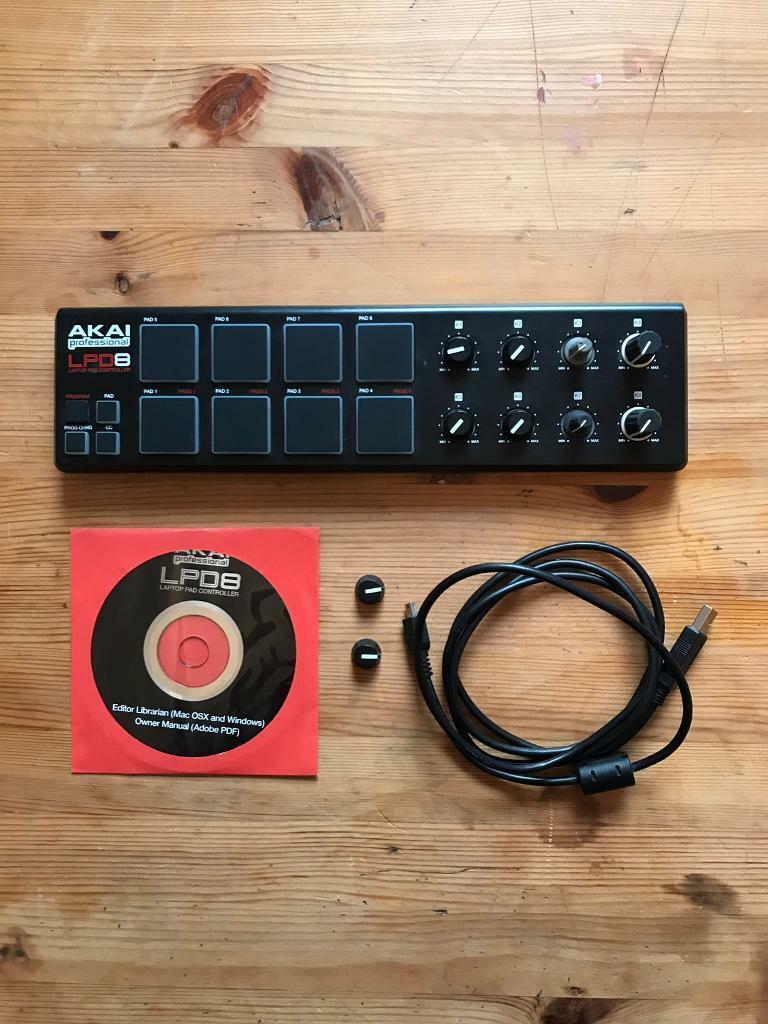 Akai LPD8 midi controller beat pad | in Hackney, London | Gumtree