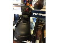 Mens work boots safety boots size 8 and 11