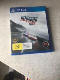 Need for Speed Rivals PS4 game