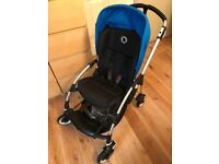 Bugaboo Bee + Plus in Blue with Accessories