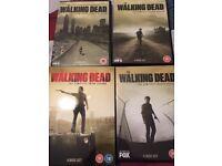 Walking dead seasons 1-4