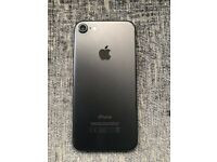 iPhone 7 - 128GB Black - Unlocked, 3 months old