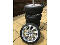 volvo s80 2014 (14) alloy wheels and winter tyres