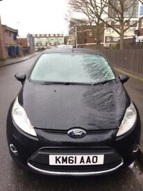 New beautiful Ford Fiesta, 2012 1.4 diesel. Cheap road tax. Kept in outanding conditions.