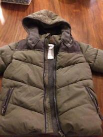 Boys coat age 2-3years