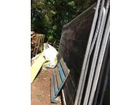Large metal barrier fencing x 10