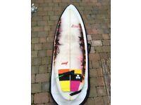 """Hawaiian Soul Surfboard. 5'9 x 20 1/2"""" x 2 3/4"""""""