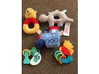 Bundle of baby toys / rattles