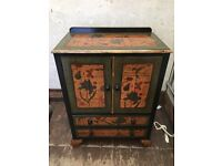 Beautiful Hand Painted Cabinet
