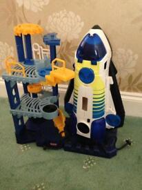 Fisher price lights & sounds space station