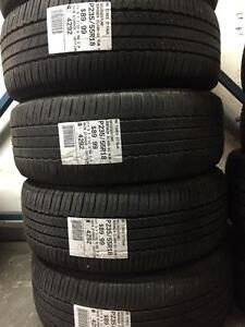 235/55/18 Bridgestone Turanza EL400 Allseasons Run Flat tires