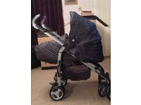 Silver Cross 3D Pushchair Travel System