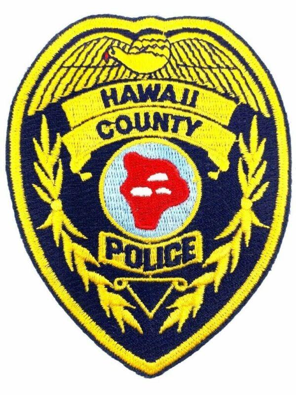 US Hawaii County Police Patch