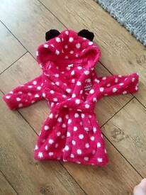 0-3 Minnie Mouse Dressing Gown