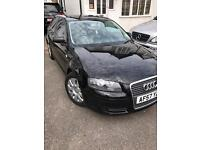 2008 AUDI A3 Sport Special Edition Black 1.6 F.S.H