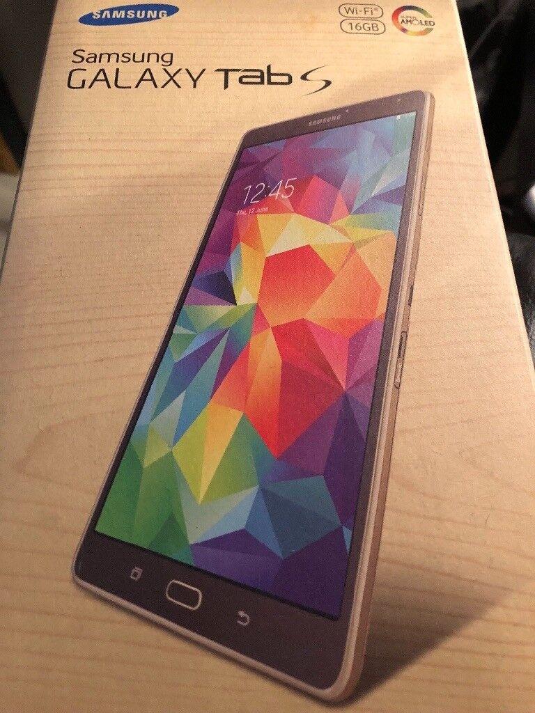 Samsung tab s WiFi 16g