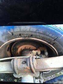 Ford transit rear twin wheel axel