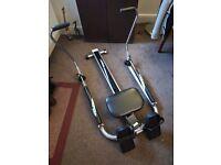 Dual hydraulic Rowing Machine