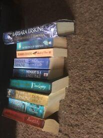 Barbara erskine books