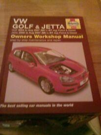 Volkswagen Golf/Jetta Haynes Manual