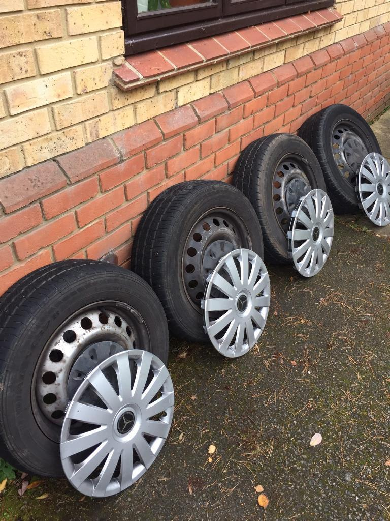 """Mercedes vito wheels with tyres 5x112 16"""""""