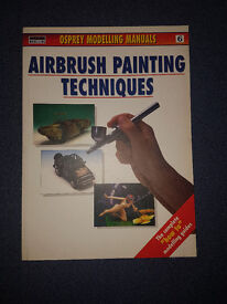 Airbrush modeling book