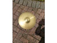Hihat and crash cymbals