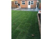 Paving driveway fencing patio turfing all landscaping