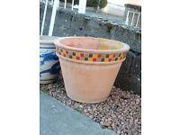 Lovely outdoor flower pot