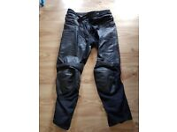 Furygan leather motorcycle trousers