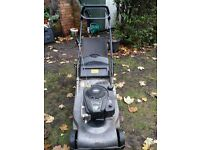 Hayter harrier 48 pro petrol lawnmower