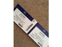Justin Bieber O2 Arena concert tickets x4 seating together