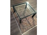 FREE Glass top coffee table - COLLECTION TODAY