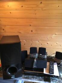 LG 3d Blu Ray surround sound system