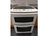Double oven, ceramic hob £40