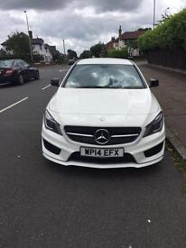 Mercedes benz CLA220 AMG SPORT 14 plate beautiful fantastic spec FSH 2 owners BARGAIN