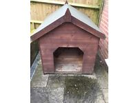 Kennel for medium sized dog. Fully treated and in good condition. Need van to transport
