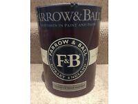 Farrow & Ball paint (Charleston Gray 5L exterior masonry)