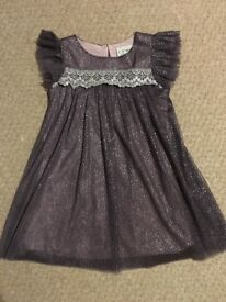 Girls occasion dress, Next, age 2-3 years