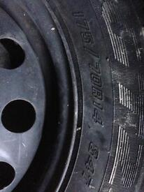 tyre with rim 175/70R14