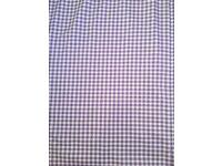 Extra Large Lined Gingham Style Curtains