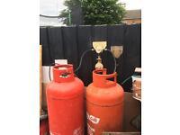 2x47KG gas bottles