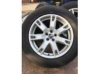 LAND ROVER RANGE ROVER 4x18 inch alloy wheels in PERFECT CONDITION!