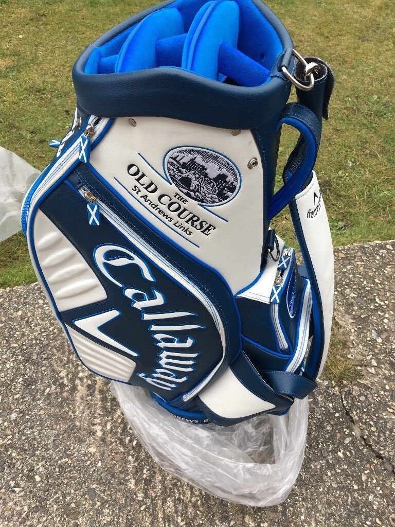 Callaway Tour Staff Bag St Andrews Open In Reading