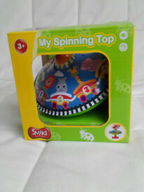 Classic Spinning Top toy – NEW