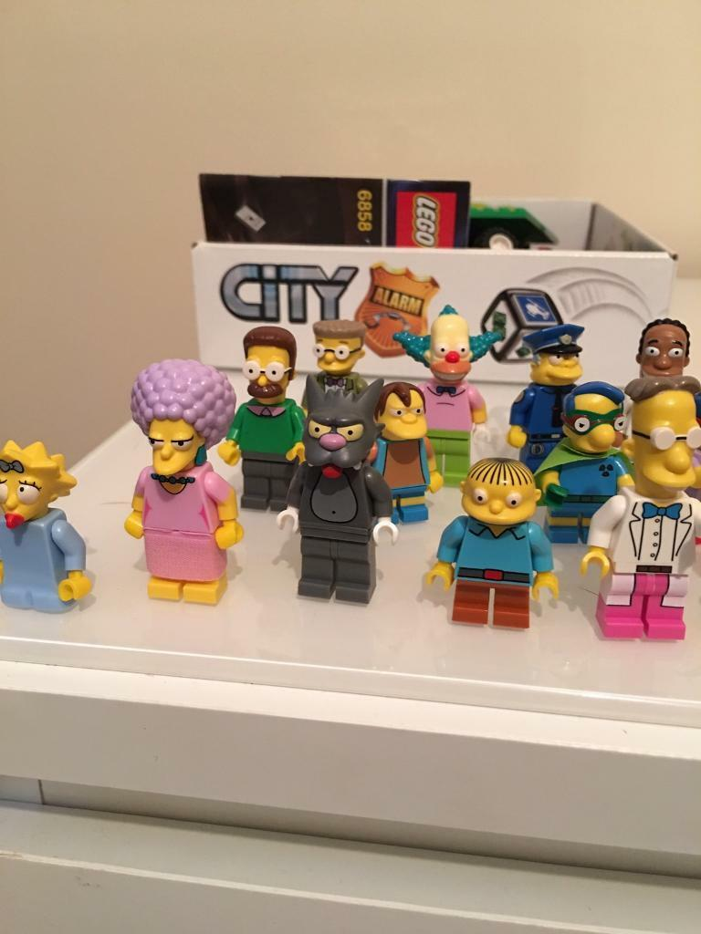 Lego Simpsons 25 figures