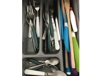 Fully equipped kitchen set