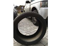 255 35 19 Dunlop winter sport 3D tyres x 4. Virtually unused with 7mm tread all around.